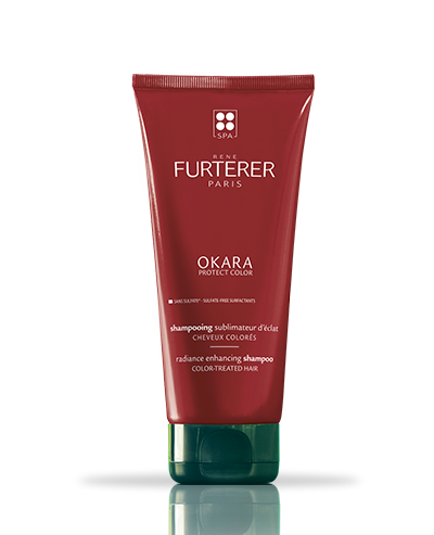 Okara Protect color radiance enhancing shampoo | René Furterer