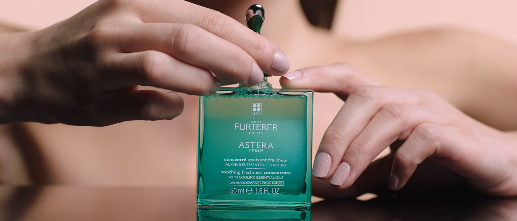 ASTERA FRESH - Soothing freshness concentrate - Irritated scalp| René Furterer