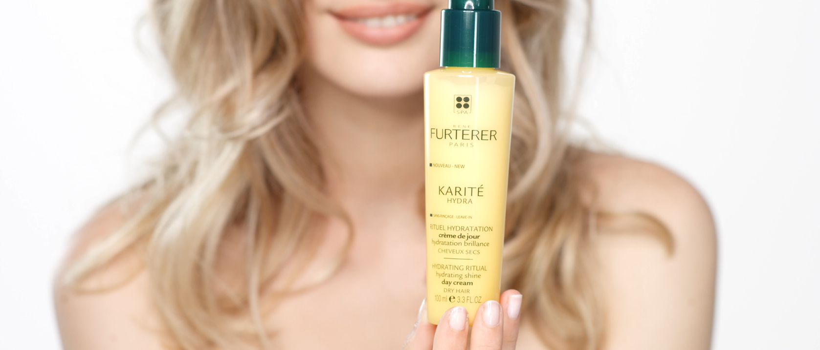 KARITE HYDRA Hydrating shine day cream application video | René Furterer