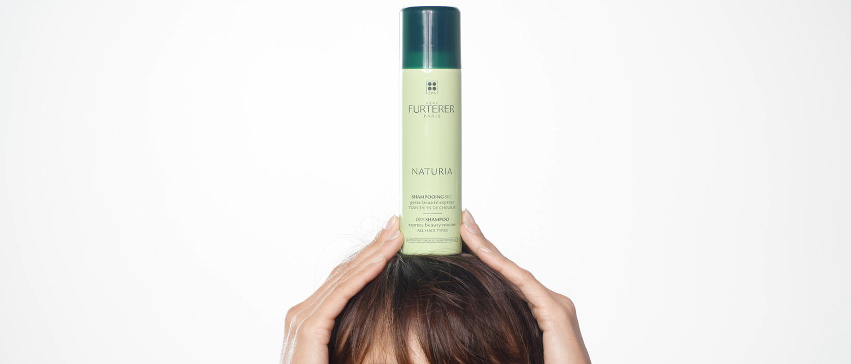 NATURIA Dry shampoo application video  | René Furterer