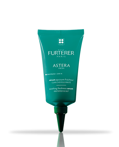 Astera Fresh leave-in soothing freshness serum with cold essential oils | René Furterer