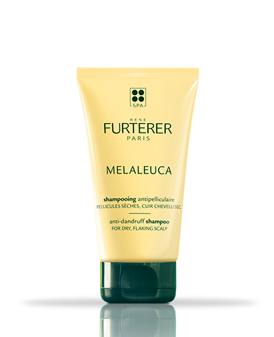 Melaleuca anti-dandruff shampoo with purifying essential oils for dry, flaking scalp | René Furterer