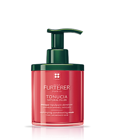 TONUCIA NATURAL FILLER - Replumping detangling mask - Lifeless tired hair| René Furterer