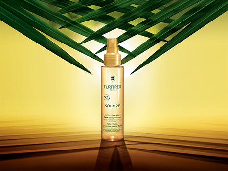 The SOLAIRE ritual for hair exposed to sun, sea, and pool | René Furterer