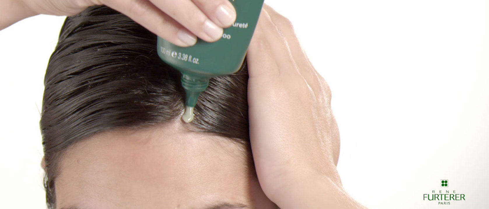 How to apply Curbicia purifying clay shampoo | René Furterer